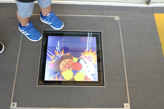 仙台アンパンマンこどもミュージアム&モールの子供が喜ぶポイント ①入る前から小ネタが満載!