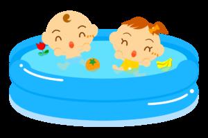 赤ちゃんのプールにいつから入れていい?安全な入れ方や便利なプールグッズも!